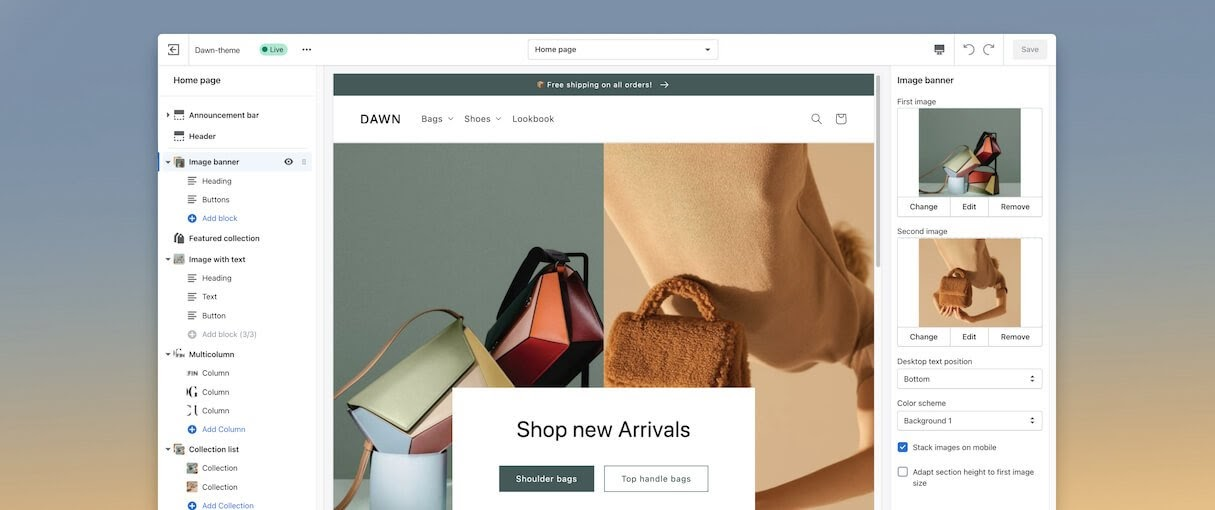 Shopify new addons to stores