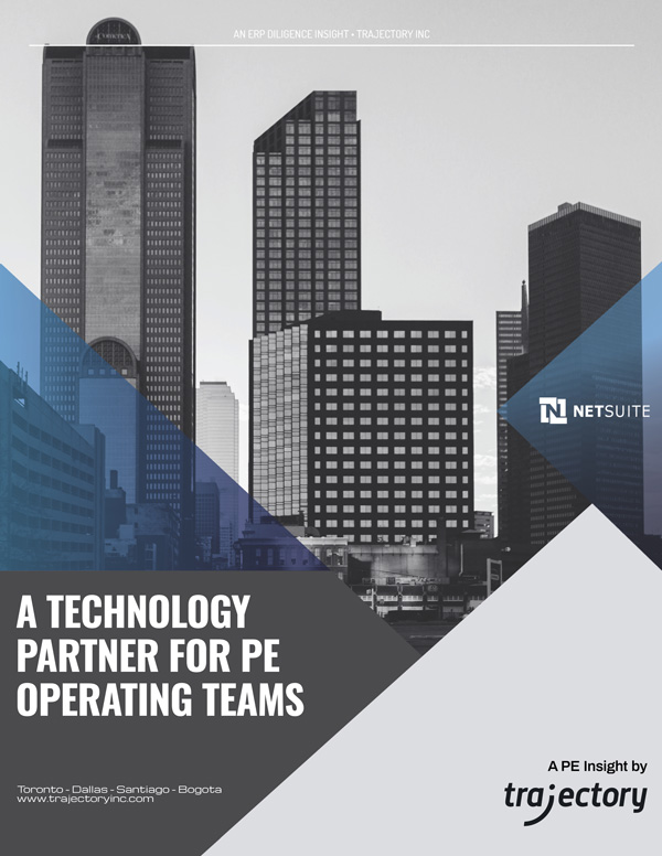 Private Equity Insight: Technology Partner for PE Operating Teams